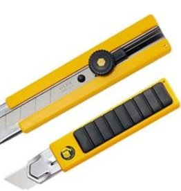 OLFA® Rubber Inset Grip Ratchet-Lock Utility Knife