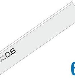 OLFA 100mm Schraper Messen .8mm dik