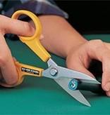 "Olfa Scissors, Stainless Steel Serrated Edge 5"" (127 mm) 100-SCS-1"