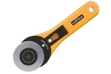OLFA 60mm Straight Handle Rotary Cutter 100-RTY-3/G