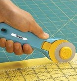 OLFA® Splash 45mm Rotary Cutter, Aqua 100-RTY-2/C