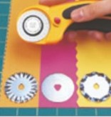 OLFA-Rotiermesser 100-RTY-2/DX