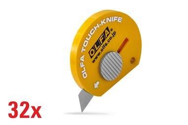 OLFA Multipurpose Touch Knife -32 pcs 100-TK-4-32