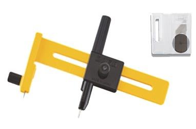 OLFA Compass Circle Cutter 1 to 15cm 100-CMP-1