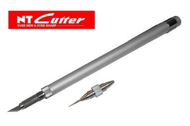 NT Cutter Art KNife Deluxe version Aluminium 100-D1000
