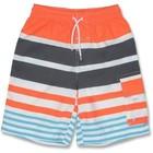 UV Boardshort Orange/Stripe - Snapper Rock