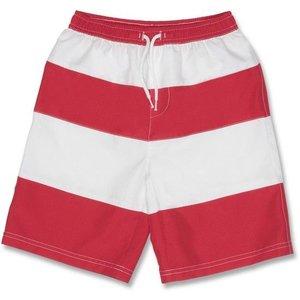 UV Boardshort Red/White - Snapper Rock