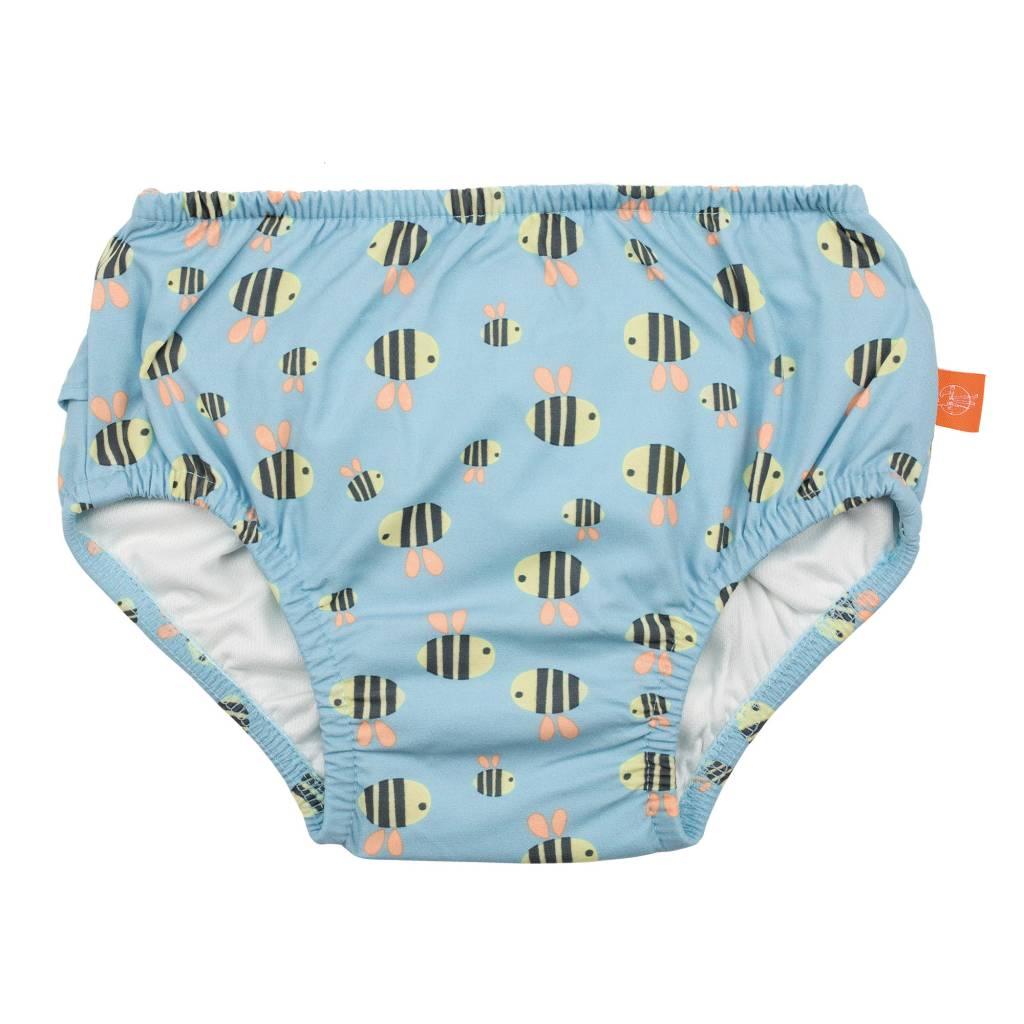 507ff990334c28 Deze vrolijke uitwasbare zwemluier voor meisjes geeft optimale uv 50  bescherming in de zon. de