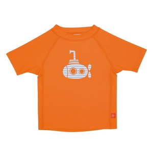 UV beschermend zwemshirt shirt korte mouwen onderzeeër oranje - Lässig