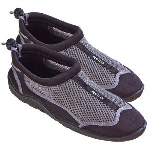 Zwemschoen Heren / Dames Zwart-Grijs - Beco
