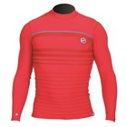 Rashguard Long Sleeve Heren Rood Streep - Prolimit