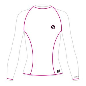 UV Dames Zwemshirt Lange Mouw Wit - Prolimit
