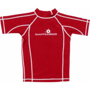UV Shirt Solid Red - Snapper Rock
