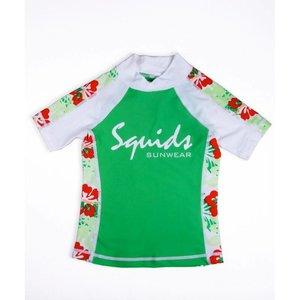 UV-Shirt Jungle Green- Squids Sunwear