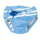 Zwemluier Sealife Blauw Effen - Beco