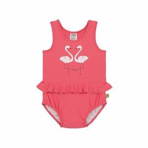 Lässig Badpak meisjes Flamingo - Lässig