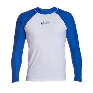 IQ-UV UV werend shirt - heren - wit - IQ-UV