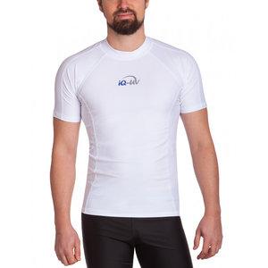 IQ-UV UV werend T-shirt - heren - wit - IQ-UV