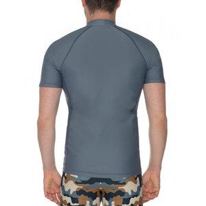 IQ-UV UV werend T-shirt - heren - grijs - IQ-UV