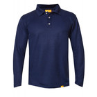 IQ-UV UV werende polo - heren - blauw - IQ-UV