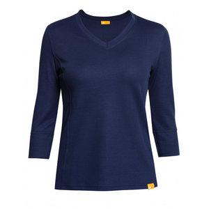 IQ-UV UV Werend Dames shirt - blauw - IQ-UV