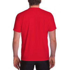 IQ-UV UV werend shirt heren rood  - IQ UV - Loose fit