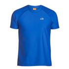 IQ-UV UV werend shirt heren blauw - IQ UV