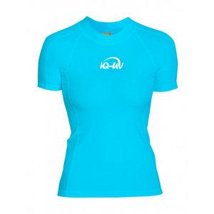 IQ-UV UV Beschermend zwemshirt Dames turquoise - IQ-UV