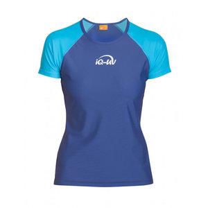 UV Werend Zwemshirt Dames blauw - IQ-UV