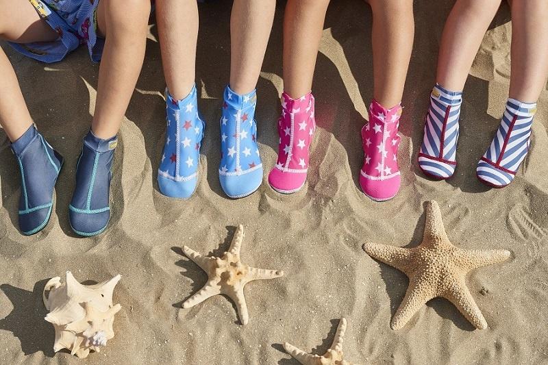Zonder pijnlijke voeten naar het strand!