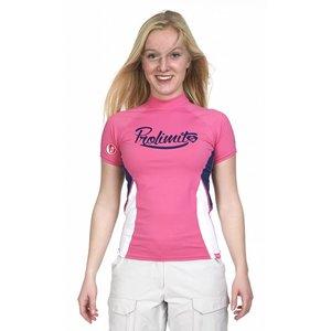 Rashguard Dames Pure Girl Roze - Prolimit