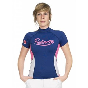 Rashguard Dames Pure Girl Blauw - Prolimit