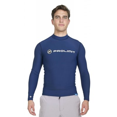 UV Rashguard Heren Lange Mouw Blauw - Prolimit