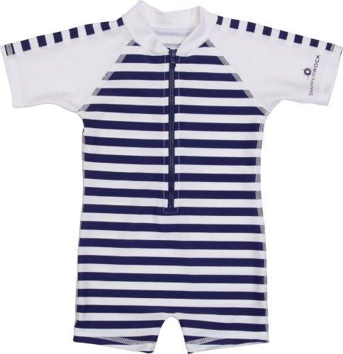 Baby Badpak.Uv Badpak Baby Navy White Stripe Snapper Rock Uv Zwemkleding Nl