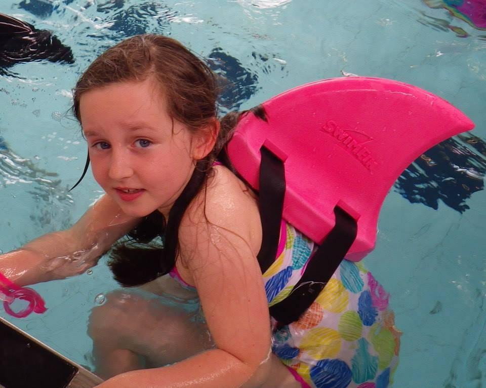 Swimfin - het alternatief voor zwembandjes