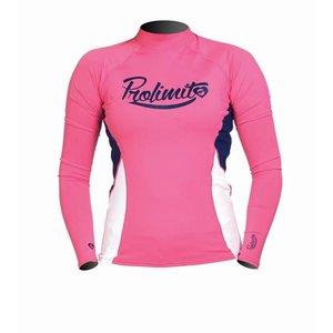 Rashguard Dames Pure Girl Roze (LS) - Prolimit