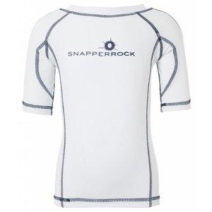 UV-Shirt White & Navy - Snapper Rock