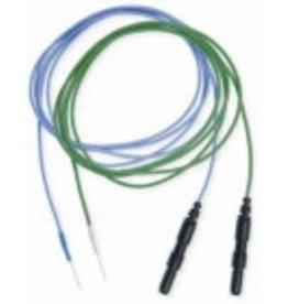 C-Naps Technomed Herbruikbare EEG/EP naaldelectroden Platina/Iridium met kabel