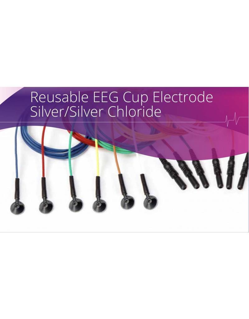 Technomed Herbruikbare EEG-bekerelektrode, zilver-zilverchloride (Ag-AgCl)