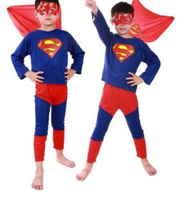 Superheld/Superman verkleedpak