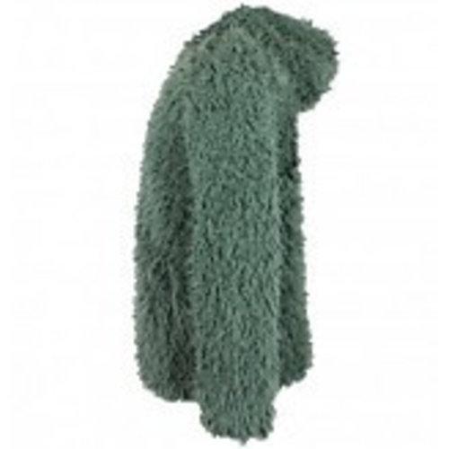 VinRose Vinrose winter vest/jas Teddy - dusty olive - maat 110/116, 122/128, 134/140, 146/152, 158/164
