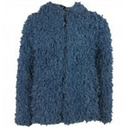 VinRose Vinrose winter vest/jas Teddy - dress blue -maat 110/116, 122/128, 134/140, 146/152