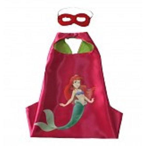 Little Mermaid cape en masker