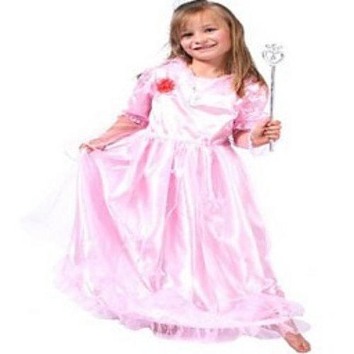 Prinses Butterfly roze jurk 98/104, 116/128, 140/152