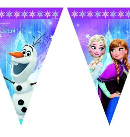 Disney Frozen feestpakket - 8 personen + extra 8 x lunchbox of  8 x kroon