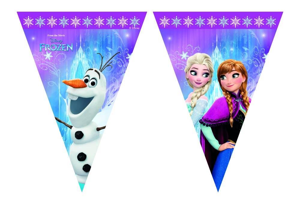 Disney Frozen feestpakket - 8 personen