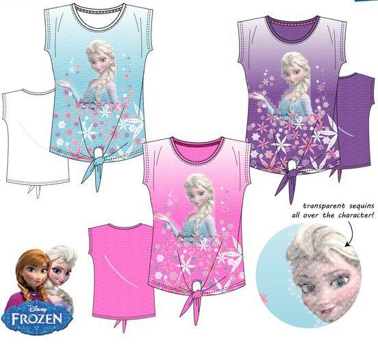 Disney Disney Frozen shirt  maat 104, 110, 116, 128