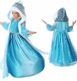 Frozen Anna en Elsa jurk 86/92, 98/104, 110, 116/122, 128/134