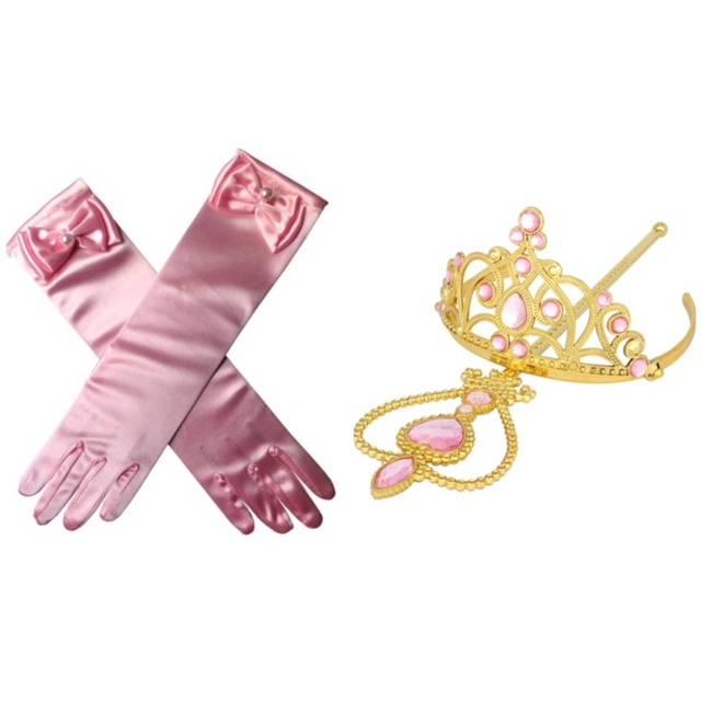 Prinses Elsa/Anna accessoire set