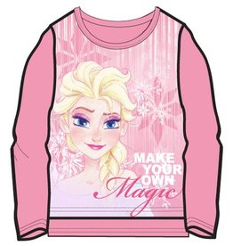 Disney Frozen Elsa - roze longsleeve